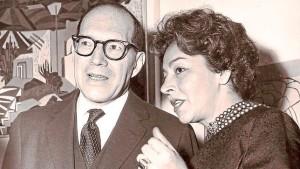 Germán Arciniegas y Emma Reyes