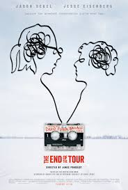 the end of the tour afiche