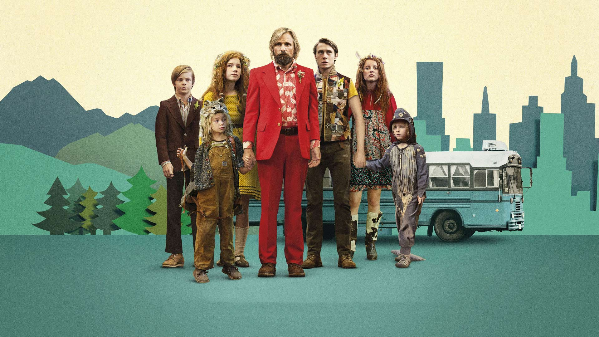Captain fantastic (2016) Matt Ross